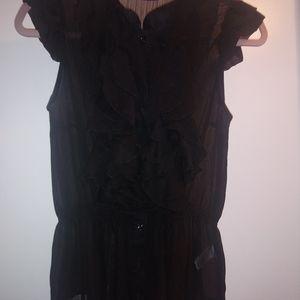 Miles Cyrus Ruffled blouse